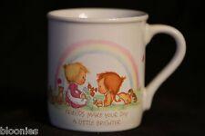 "Betsey Clark ""Friends Make Your Day a Little Brighter"" Hallmark 1983 Mug"