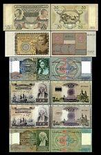 2x  10, 10, 20, 20, 25, 50 Gulden - Ausgabe 1939 - 1943 - Reproduktion - 009