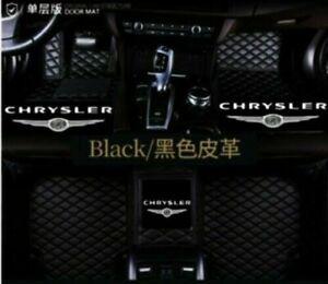For Chrysler 300 300C 300S 300M PT-Cruiser Sebring Luxury Waterproof Floor Mats