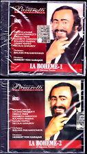 LA BOHEME (G. Puccini)- Luciano PAVAROTTI Opera completa 2 CD Sigillato