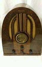PHILCO 1937 MODEL 37-89 ANTIQUE CATHDRAL Tube radio *ALL WORKS!* VERY RARE!!!