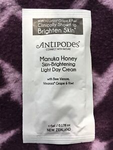 ANTIPODES  Manuka Honey Skin Brightening Light Day Cream Sample 5 ml