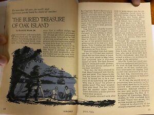 Coronet July 1954 The Pirate TREASURE Of OAK ISLAND Article