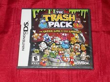 TRASH PACK THE GROSS GANG IN YOUR GARBAGE NINTENDO DS FACTORY SEALED!!!