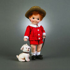 R. John Wright Georgie & Fido Collectible Doll & Puppy USA Handmade