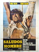Plakat Kino Western Saludos Hombre - 120 X 160 CM