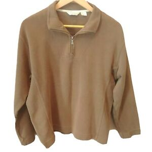 Tommy Bahama Boys size Large 1/4 zip Henley pullover long sleeve sweater shirt