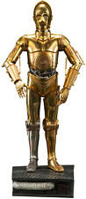 "STAR WARS ~ C-3PO Premium Format 19"" Statue (Sideshow Collectibles) #NEW"