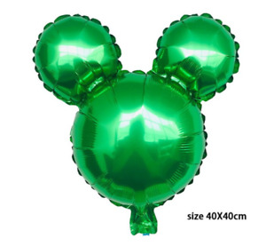 Mickey Minnie Mouse Birthday party foil balloons 5 pack baby shower centerpiece