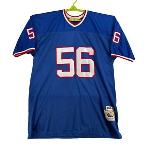 Lawrence Taylor 56 New York Giants Blue Jersey Size 58 (1981) Mitchell & Ness