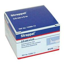 BSN Medical Strappal Zinc Oxide Strong Sports Support Tape, 2.5 cm x 5 m