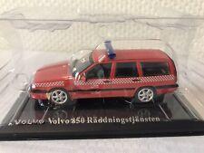 Atlas 1:43 Volvo 850 Feuerwehr Räddning NEU OVP Modellauto Geschenk Weihnachten