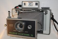 Polaroid Automatic Countdown 70 rare,fp100c,converted aaa,lomography(c14) tested