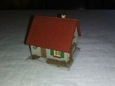 Vintage Faller Nr. 209 Single Family Home Wood Base & Roof Made in Germany