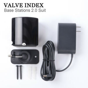 Valve Index steamVR 2.0 Base Station kit for VR headset and controllers