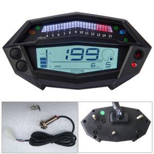 Motorcycle Digital LCD Tachometer Speedometer Gear Indicator For Kawasaki Z1000