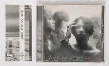 L'Arc~en~Ciel HEART Japan CD Album KSC2 204 Picture Label w/Obi hyde tetsuya ken