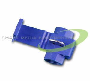 100x Abzweigverbinder BLAU 1,5-2,5mm² Schnellverbinder Stromdiebe Kabeldiebe