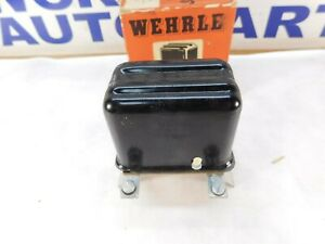 VW Volkswagen    6-Volt   Voltage Regulator   WEHRLE Old   1946-1953