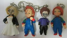 Rare Chucky Poupée Tueuse Lot 4 Figures Tiffany Glen Version Secret 5cm Tomy