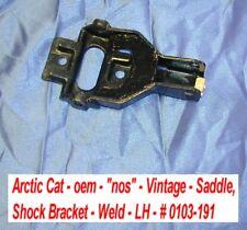 """Arctic Cat oem Saddle, Shock Bracket - Welded # 0103-191  -""""nos"""" - Vintage"""