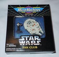 STAR WARS Micro Machines Han Solo Millennium Falcon Fan Club Set New Sealed