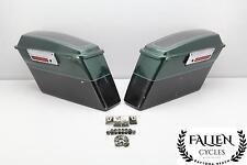 98 Harley Electra Glide Classic Flhtcui Left Right Saddlebag Luggage Case Set