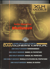 Harley Sportster XL XLH 883 1200 (2000) Official Owners Riders Manual Book CF50