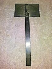 "Vintage Starret No 183  Steel Protractor 3.25""x6"""