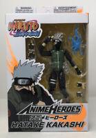 """Bandai Naruto Shippuden Anime Heroes Hatake Kakashi 6"""" Action Figure"""