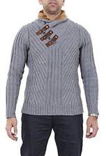 Maglioni e cardigan da uomo in lana con colletto taglia XL