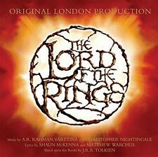 The Lord of the Rings Original London Cast Recording CD & DVD NEW FACTORY SEALED