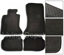 Fit For 11-16 BMW F10 5-Series Floor Mats Carpet Front & Rear Nylon Black 4PC