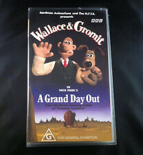 Wallace & Gromit - A Grand Day Out - Video Cassette VHS