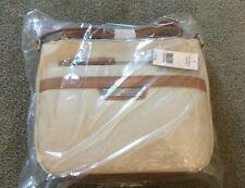 Brand New KIM ROGERS Tote Belk SATCHEL Small Bag Oatmeal Brown HANDBAG PURSE $58