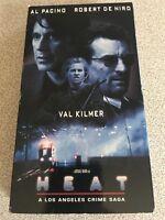 HEAT Al Pacino, Robert De Niro, Val Kilmer, Tom Sizemore, Diane Venora VHS, 1995