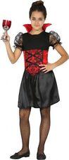 Déguisement Fille Vampire 10/11/12 ans Costume Enfant Halloween Vampiresse