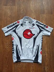 NALINI Stoke Short Sleeve Shirt Cycling Jersey Men's Size L