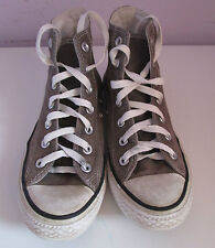 De Colección Unisex Chuck Taylor Converse Beige Lona Hi Top Entrenador/tamaño del zapato 5.5