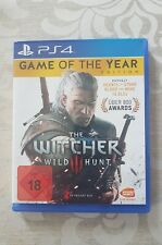 PS4 The Witcher 3 - Wild Hunt Game Of The Year Edition neuwertig
