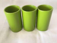 Jonathan Adler  Tumbler Green Lacquer (3pcs)   Retail - $60 us