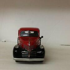 Danbury Mint 1941 Dodge Pickup Truck Red W/ Black Fenders .Car01