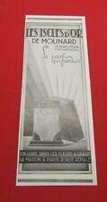 ADVERTISING PUB PUBLICITE ANCIENNE ADVERT 2.3 LES ISCLES D'OR DE MOLINARD 1930