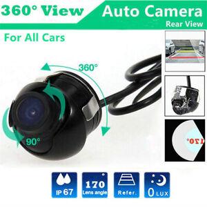 170° Rückfahrkamera Einparkhilfe Kamera Nachtsicht Mini Auto KFZ Wasserdicht HD