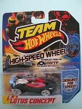 Team Hot Wheels - LOTUS CONCEPT - High Speed Wheels - New In Packet 2011