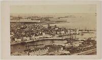 Ville A Identificare Francia Foto CDV PL52L5n51 Vintage Albumina c1860