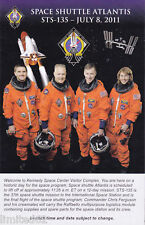 STS-135 Envelope with Insert PLUS BONUSES - FREE DELIVERY IN THE USA