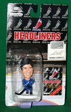 NHLPA Headliners Action Figure Mario Lemieux NIP 1996 Corinthian Hockey Figure