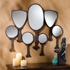 Mirror Mirror On The Wall Metal Framed Antique Bronze Finish Hand Mirrors Frieze