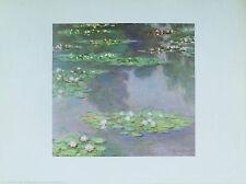 Claude MONET Water lilies Nymphéas paysage d'eau Museum BOSTON Édit. Hazan 1992